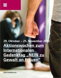 Bild HD-Aktion Gedenktag Nein zu Gewalt an Frauen