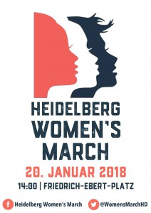 HD Womens March 2018 poster